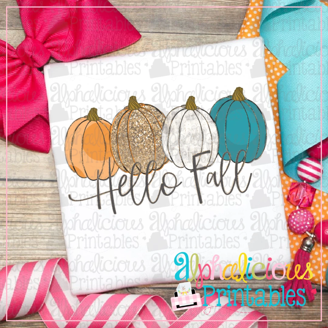 Hello Fall -Printable