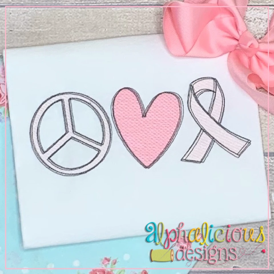 Peace Love & Awareness-Sketch