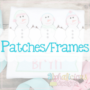 Frames, Patches & Shapes AS