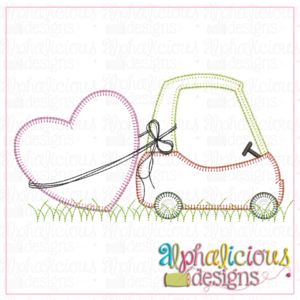 Coupe with Heart- Blanket