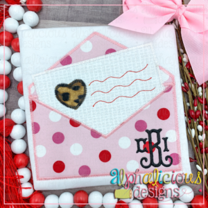 Envelope with Love Letter- ZigZag