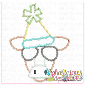 Party Animal Birthday Cow - ZigZag