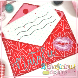 Sealed with a Kiss Envelope- Blanket